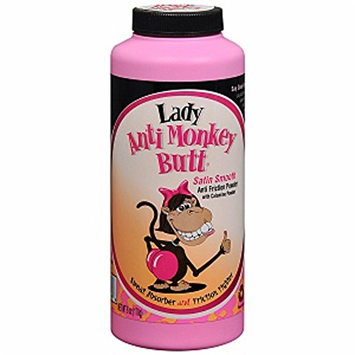 DSE 50/50 Lady Anti-Monkey Butt Powder, 48 Count (Pack of 48) by DSE