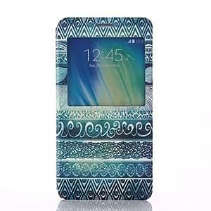 WQQ Teléfono Móvil Samsung - Carcasas de Cuerpo Completo - Diseño Especial - para Samsung Galaxia A7 ( Multi-color , Plástico/Cuero PU )