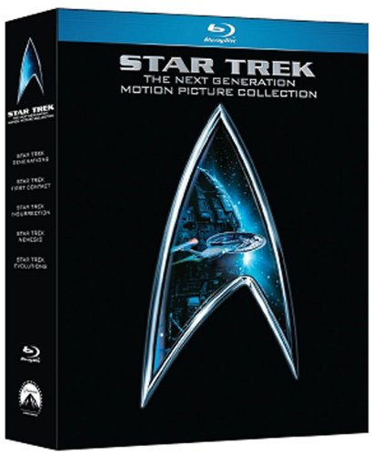 Star Trek The Next Generation Motion Pictures Box (Blu-Ray)