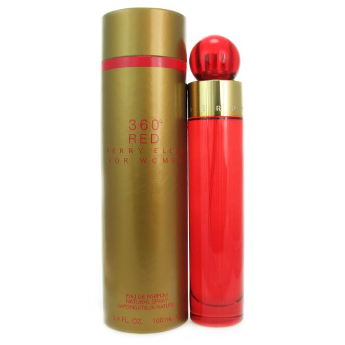 Red For Women Perfume (Perry Ellis 360 Red By Perry Ellis For Women. Eau De Parfum Spray 3.4 Ounces)
