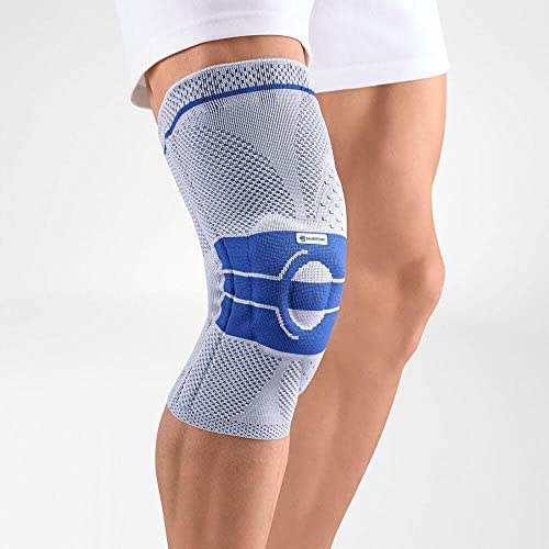 Bauerfeind GenuTrain A3 Right Knee Support - Breathable Knit Compression Knee Brace to Relieve Pain and Swelling from osteoarthritis, ACL Injury, Meniscus Tear, Medical Grade Knee Sleeve