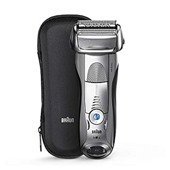 Image of Braun Electric Razor for Men, Series 7 7893s Electric Shaver With Precision Trimmer, Rechargeable, Wet & Dry & Travel Case Health and Household