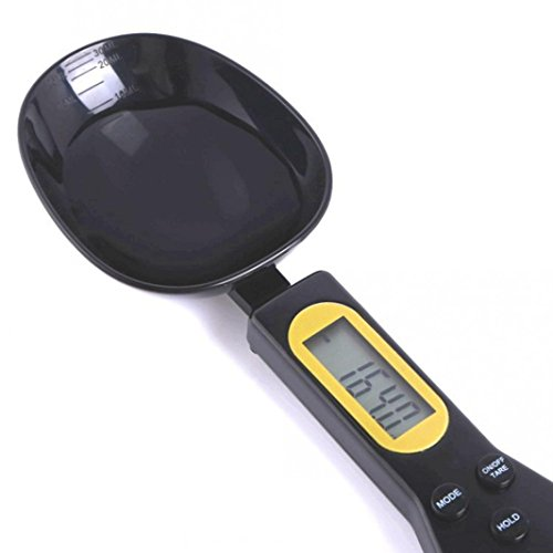 Whitegeese Kitchen Scale Electronic Measuring Spoon Scale 500g/0.1g Digital Scale Spoon LCD Monitor Digital Spoon.