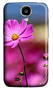 Samsung Galaxy S4 I9500 Hard Case - D Red Flowers Galaxy S4 Cases hjbrhga1544