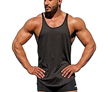 Phantom Athletics Tank Top Tactic Schwarz Fitness Sport Shirt Herren Trägershirt