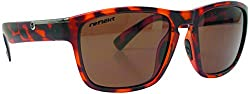 Reflekt Polarized Seafarer Sunglasses, Ebony Stripe