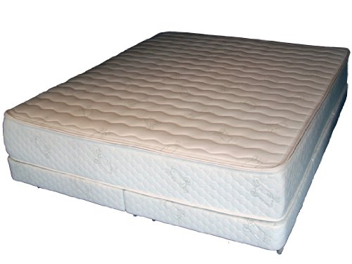 Posture Select Organic Cotton-Natural Talalay Latex Green Mattress--Queen