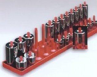 "Hansen Global 1402 1/4""Driver Metric Socket Tray"