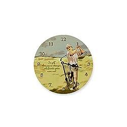 Lexington Studios Golf Swing Wall Clock
