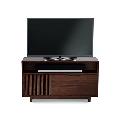 BDI Vertica 8556 Tall Media Console (Chocolate Stained Walnut)