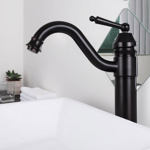13'' Oil Rubbed Bronze Bathroom Vessel Sink Faucet by Koval Inc.