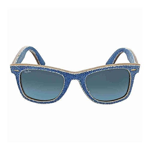 Ray Ban Original Wayfarer Denim Blue Gradient Sunglasses 2140F 11644 52mm