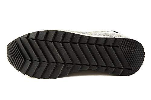 EU Zapatillas de 37 Negro Samples 123 FM Original Negro Lisa Piel Felmini Para Mujer gFpq4On