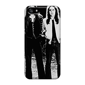 Shock Absorption Hard Phone Case For Iphone 5/5s With Customized Beautiful Bon Jovi Pattern AaronBlanchette