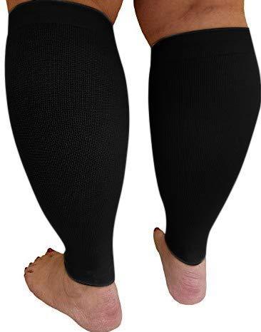 4abc3686c67 Amazon.com  MICODEMA Compression Socks Wide Calf - for Thick Calves ...