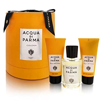 Acqua Di Parma Colonia by Acqua Di Parma 3 Piece Set Includes: 3.4 oz Eau