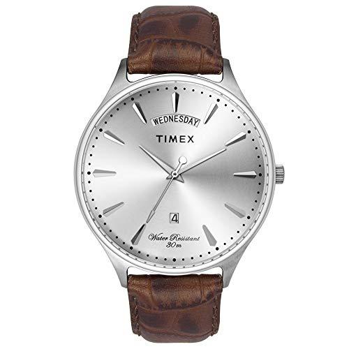 Timex Analog Silver Dial Men's Watch TWEG16900