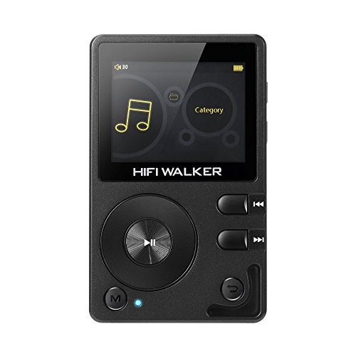 HIFI WALKER H2 High Resolution Bluetooth FLAC WAV Digital Audio Player...