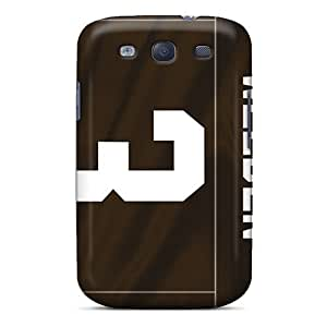 HbK2043qshF Tpu Case Skin Protector For Galaxy S3 Cleveland Browns With Nice Appearance