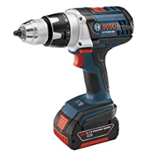 Bosch DDH181-01 18V Brute Tough Drill Driver with (2) 3.0ah Batteries