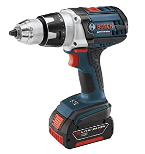 Bosch DDH181-01 18-Volt Lithium-Ion Brute Tough 1/2-Inch Heavy Duty Drill/Driver Kit with 2 Batteries, Charger and Case