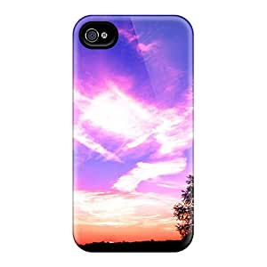 Tpu DOv3967nsEF Case Cover Protector For Iphone 4/4s - Attractive Case