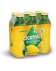 Damla Minera Limon 6x200 ml Cam Şişe