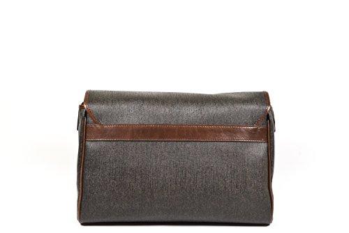 The Bridge Everyday Uomo 13'' Briefcase with Laptop Compartment dark brown