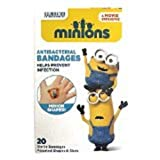 Adorable Despicable Me Shaped Adhesive Bandages (20 Ct) Multipack of 3 Boxes (60Ct) for Kids Featuring Minions