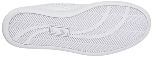 Smash Puma Unisex Black Perf Sneaker Erwachsene Weiß White zZHTwZSq1