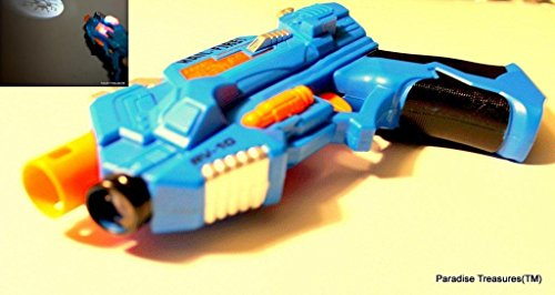 Space Gun Space Blaster LED light Up Toy Gun with Projection Image(US Seller)