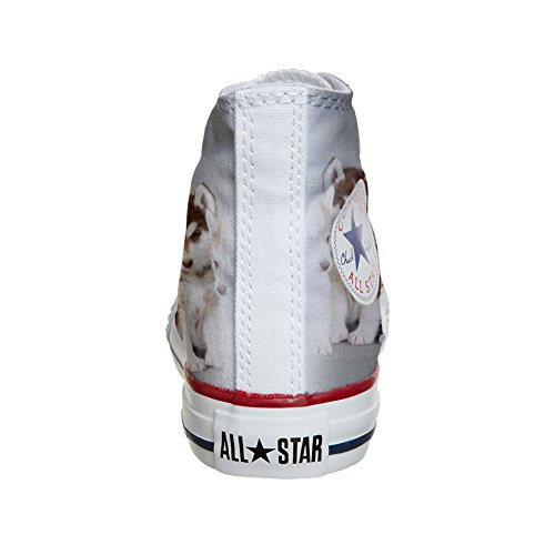 Converse Customized Chaussures Coutume (produit artisanal) chiots Husk