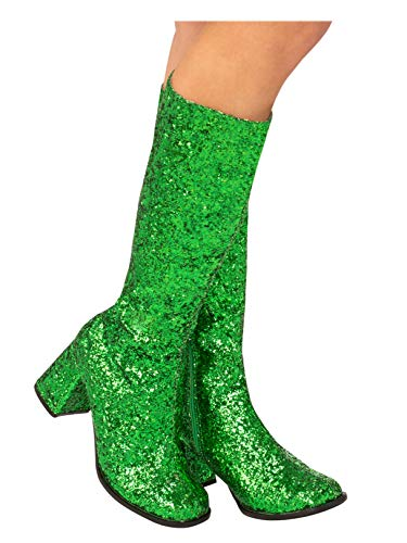 Rubie's Adult GoGo Boot Green 6