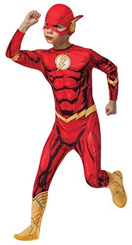 (Rubie's Boy's Flash Superhero Outfit Funny Theme Fancy Dress Child Halloween Costume, Child L (12-14))