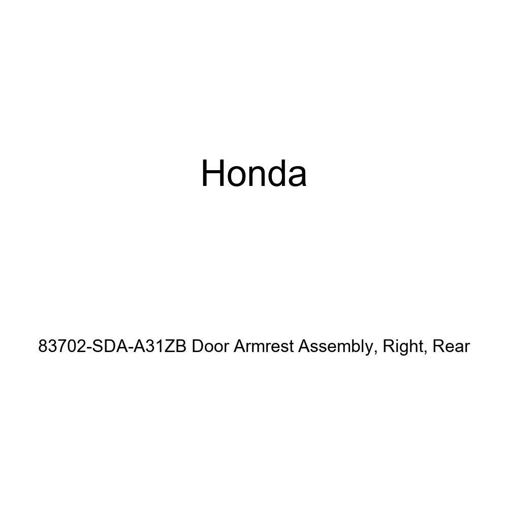 Rear Honda Genuine 83702-SDA-A31ZB Door Armrest Assembly Right