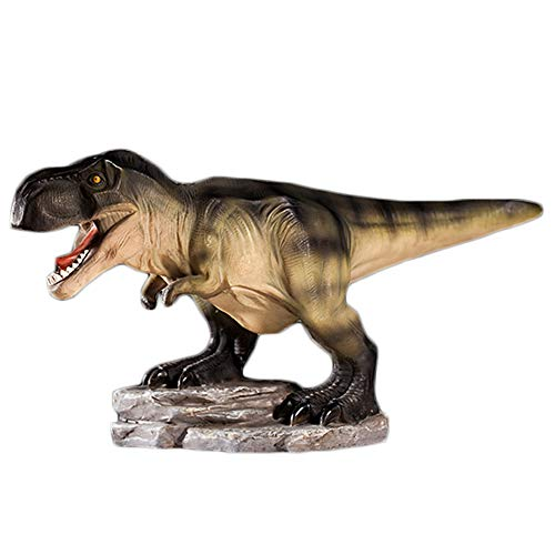 Colias Wing Home Decor Unique Tyrannosaurus/Stegosaurus/Brachiosaurus Dinosaur Series Shape Stylish Design Coin Bank Money Saving Bank Toy Bank Cents Penny Piggy Bank-Brown/Yellow/Green