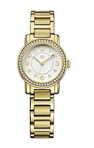 Tommy Hilfiger Women's 1781477 Antique Gold Stainless-Steel Analog Quartz Watch