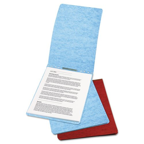 ACCO PRESSTEX Report Cover, Top Bound, Tyvek Reinforced Hinge, 2.75 Inch Centers, 2 Inch Capacity, Letter Size, Light Blue (Tyvek Hinge Cover)