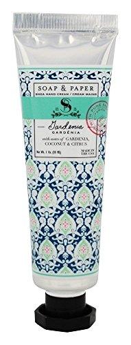 (Soap and Paper Factory Petite Shea Hand Cream Gardenia, 1 oz.)