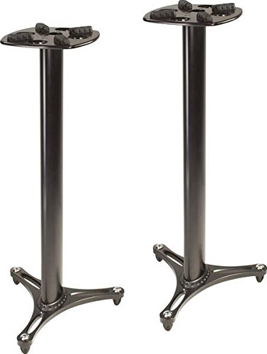 Ultimate Support MS-90/45B MS Series Professional Column Studio Monitor Stand