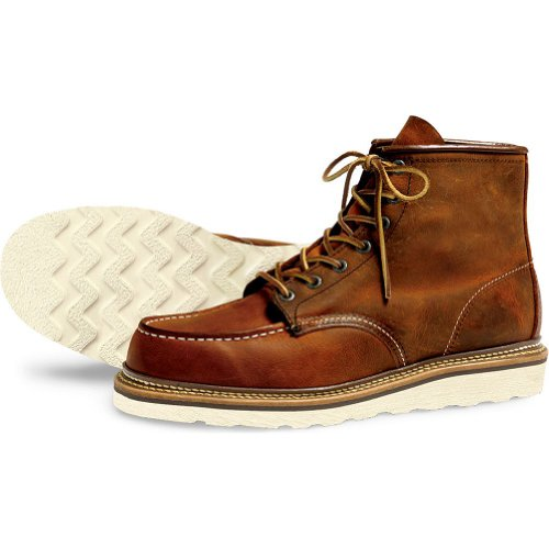 Boots Red 1907 Classic Oro Wing Rame Uomo Moc XqXOU