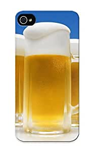 Eqmosg-2488-cbawrki Tpu Phone Case With Fashionable Look For Iphone 5/5s - Beer Alcohol Case For Christmas Day's Gift