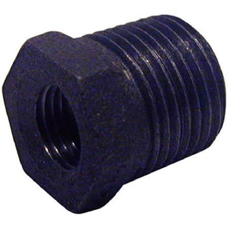 PANNEXT FITTINGS B-BUS1007 Hex Bushing 1 x 3//4 Black 1 x 3//4 Standard Plumbing Supply