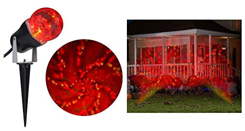 Halloween LED Time Tunnel RED YELLOW projection Stake Light]()