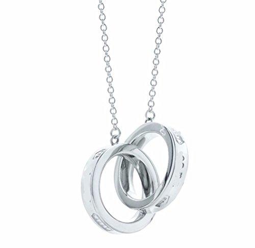 S925 1837 Interlocking Circles Pendant - 1837 Tiffany
