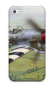 Hot Aircraft First Grade Tpu Phone Case For Iphone 5c Case Cover