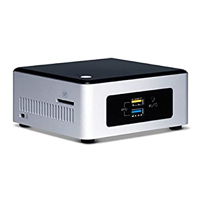 Intel Boxed, NUC Kit, Nuc5ppyh Components, Silver with Black Top (BOXNUC5PPYH)
