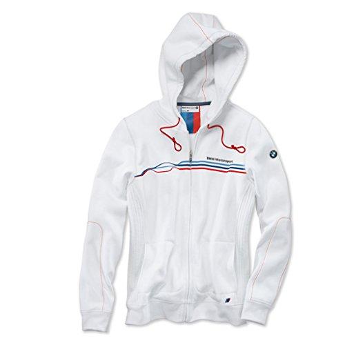BMW Motorsport ladies' sweat jacket - white - small