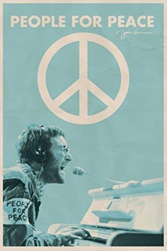 Pyramid America John Lennon People For Peace Poster Art Prin