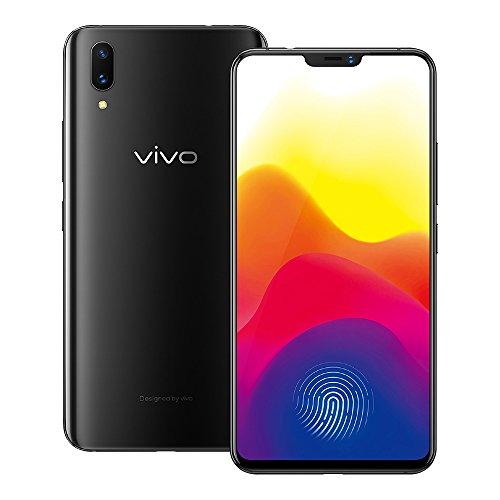 "Original Vivo x21 Screen fingerprint in-screen fingerprint scanner Mobile Phone 6.28"" 6GB RAM 128GB ROM Dual Rear Camera Android 8.1 2280x1080 face wake phone (Black)"